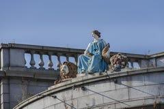 Statue von Ceres in Aberdeen, Schottland Lizenzfreies Stockfoto