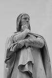 Statue von Dante Stockfoto