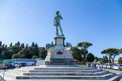 Statue von David Lizenzfreie Stockbilder