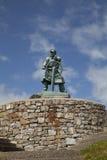 Statue von Dic Evans Lizenzfreies Stockbild