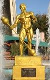 Statue von Eugen Sandow Lizenzfreies Stockbild
