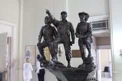 Statue von Fidel Castro, von Che Guevara und von Camilo Cienfuegos lizenzfreie stockfotografie