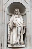 Statue von Francesco Redi Stockfoto