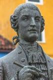 Statue von Galuppi im Hauptplatz von Burano, Marktplatz Galuppi, Lizenzfreie Stockbilder