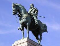 Statue von Garibaldi in Mailand Lizenzfreie Stockbilder