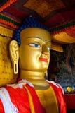 Statue von Gautama Buddha bei Shey Gompa in Leh, Ladakh, Indien Lizenzfreie Stockfotografie