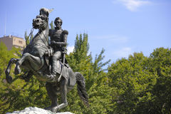 Statue von General Jackson Washington DC Stockfoto