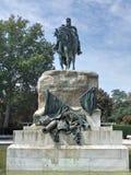 Statue von General Martinez Campos EL Retiro madrid Lizenzfreie Stockfotos