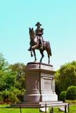 Statue von George Washington zu Pferd Lizenzfreies Stockfoto