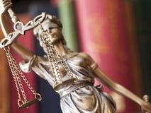 Statue von Gerechtigkeit Lizenzfreies Stockfoto