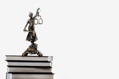 Statue von Gerechtigkeit, Gesetzeskonzept, Lizenzfreie Stockbilder