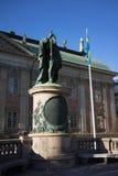 Statue von Gustav II Adolph Lizenzfreie Stockbilder