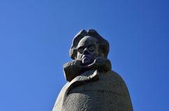 Statue von Ibsen Stockbild
