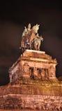 Statue von imperator Wilhelm lizenzfreies stockbild