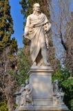 Statue von Ioannis Varvakis Lizenzfreie Stockfotos