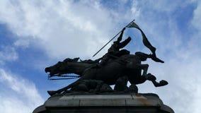 Statue von Jeanne d'Arc lizenzfreie stockfotografie