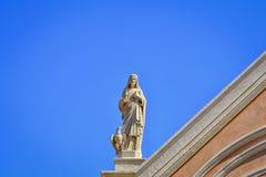 Statue von Jesus Lizenzfreies Stockfoto