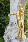 Statue von Johann Strauss, Wien, Österreich Lizenzfreies Stockbild
