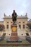 Statue von Johann Wolfgang Goethe. Stockfotos