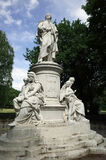 Statue von Johann Wolfgang von Goethe Lizenzfreies Stockfoto