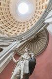 Statue von Juno Sospita beim runden Hall vatican rom Stockfotos