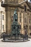 Statue von König Charles IV (Karolo-Quartband) Stockfoto