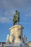 Statue von König José L stockbilder
