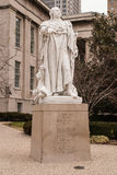 Statue von König Louis XVI in Louisville, Kentucky Stockfotografie