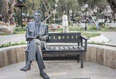 Statue von Kasim Yaman 1892-1966 Lizenzfreie Stockfotografie