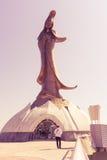 Statue von kun bin ich in der Weinleseart Stockfotografie