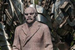 Statue von Lenin stockbilder