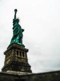 Statue von Liberty Dark Contrast Stockfotografie