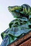 Statue von Liberty Left Hand am 4. Juli lizenzfreies stockbild