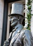 Statue von Lincoln lizenzfreie stockfotos
