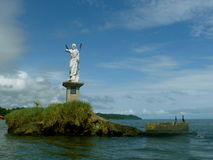 Statue von Livingston Stockfotos