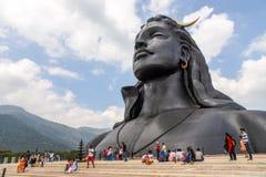 Statue von Lord Shiva lizenzfreies stockfoto