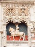 Statue von Louis XII am blois Schloss Stockfoto