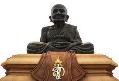 Statue von Luang PU Thuat bei Wathuaymongkol Stockfotografie