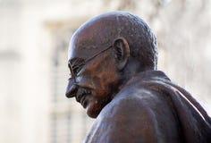 Statue von Mahatma Gandhi Stockbild