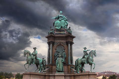Statue von Maria Teresia Lizenzfreies Stockbild