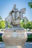 Statue von Maria Theresa stockbild