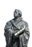 Statue von Martin Luther in Dresden Stockfotografie