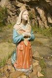 Statue von Mary Stockfoto