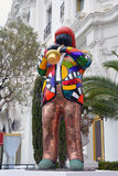 Statue von Miles Davis in Nizza Stockfotos