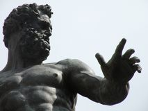 Statue von Neptun lizenzfreie stockfotografie