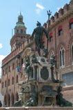 Statue von Neptun, Stadt von Bologna Lizenzfreie Stockbilder