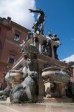 Statue von Neptun, Stadt von Bologna Stockfotografie