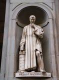 Statue von Niccolo Macchiavelli Lizenzfreies Stockbild
