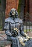 Statue von Nicolaus Copernicus Stockbilder
