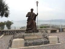 Statue von Peter Stockfoto
